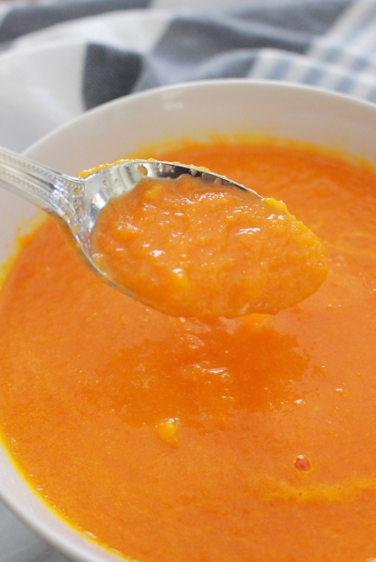Pureed Ginger-Carrot Soup