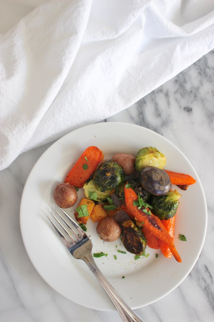 Easy Roasted Winter Vegetables
