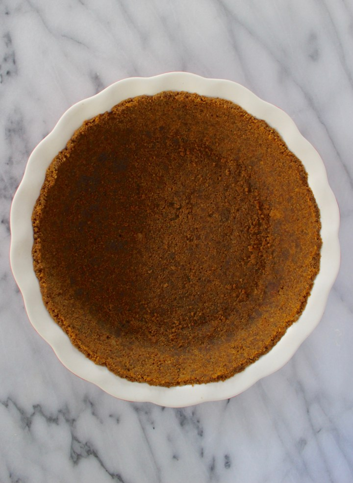 Gingersnap Cookie Pie Crust