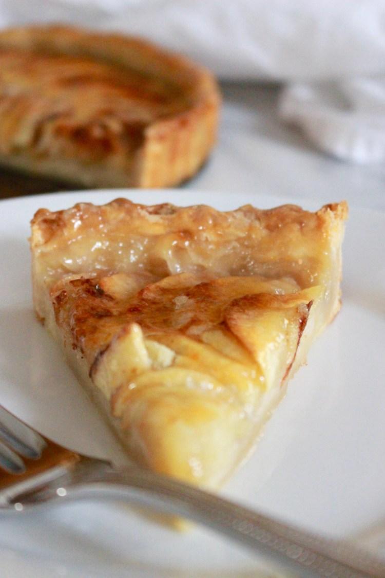 Simple Homemade Apple Tart Recipe