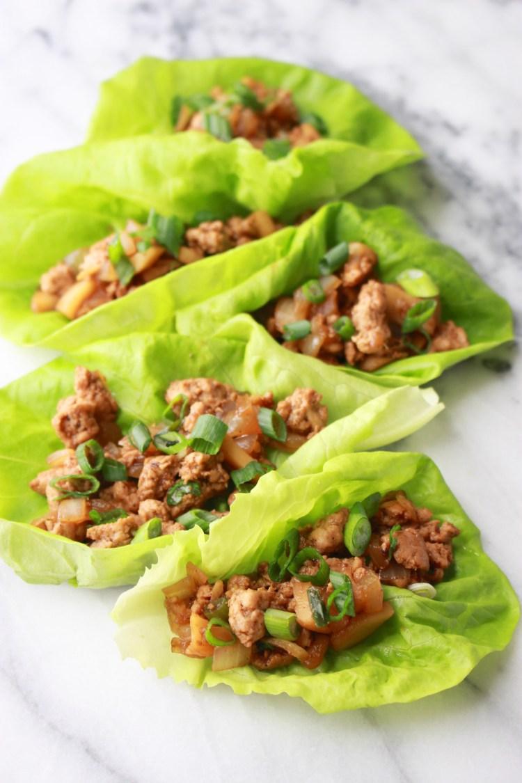 Homemade Turkey Lettuce Wraps