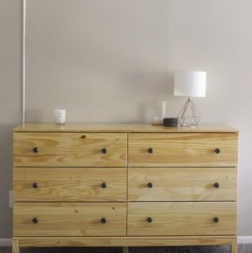 IKEA tarva dresser with poly