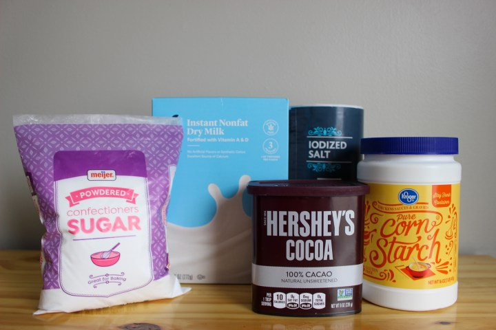 homemade hot chocolate mix ingredients