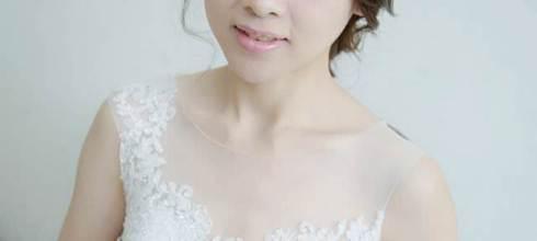 高雄新秘打造韓式夢幻甜美新娘型風格~新娘新秘推薦顧曼蒂