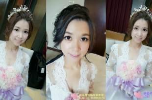 高雄新秘│顧曼蒂推薦閃耀全場的韓風水晶皇冠造型│新娘造型