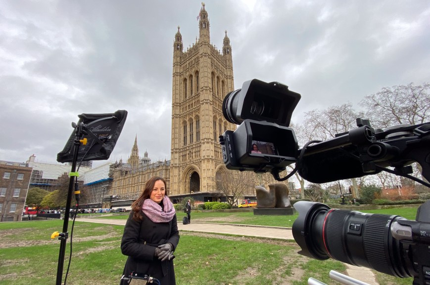 M&Y Media LiveU Broadcast Westminster Elections