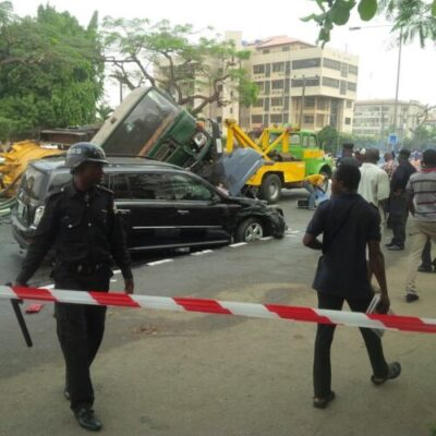 img_20160116_113458 2 Persons Confirmed Death As Sewage Disposal Truck Skid & Ran Into A Mercedes  Jeep At Alausa