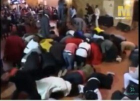 wpid-wp-1457906957069 Shocking! Pastor Turns Members Into 'Sheep' Inside Church During Service [Video]