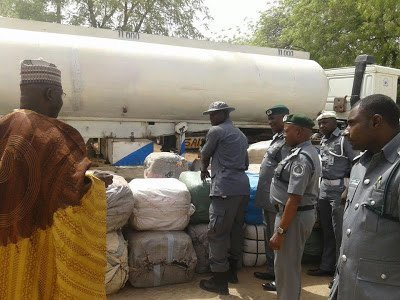 wp-1461170801925 Tanker Filled With Contraband Goods Instead Of Fuel Stopped By Customs Officers (Photos)