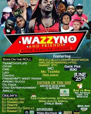 img 20170619 131016 927 - Opa6, Bolo J, Niyas To Perform At Wazzyno's First Show In South Africa
