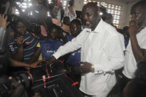 620x349 Breaking News: Former Chelsea Star George Weah Is New President Of Liberia