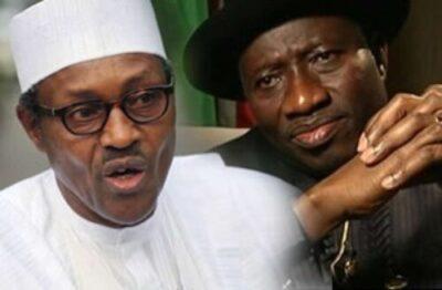 goodluck jonathan and muhammadu buhari 1 1 - President Buhari's Old Tweet Reacting To Fuel During GEJ (Pics)