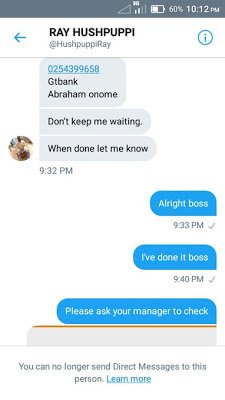 """af24a dtdgpppxcaa4qql - """"I Just Got Duped By Hushpuppi"""" - Another Nigerian Student Cries Out For Help (Pics)"""