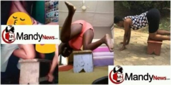 "stool challenge 1 696x348 - Ghanaians Start The ""Stool Challenge"" After Headmaster-Student S3xtape (Pics)"