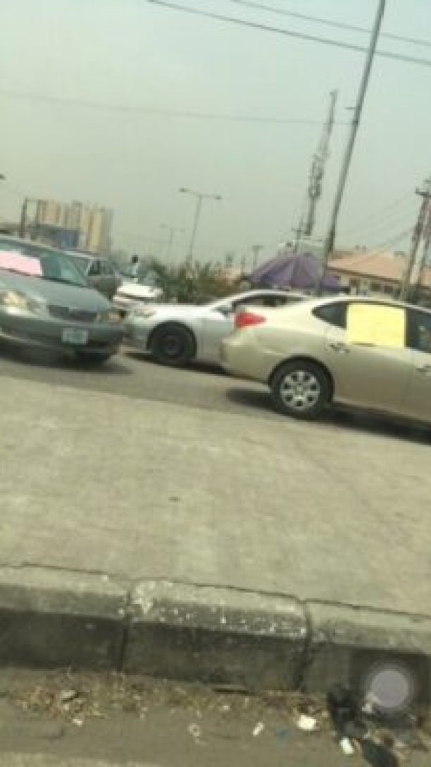 img_7425 Taxify Drivers Protest In Lagos (Photos)