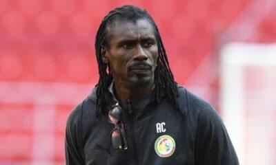 1712 - Meet Only Black Coach At The World Cup, And It's Senegal's Aliou Cissé (Photos)