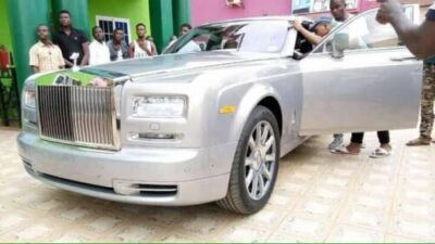 "35824619 586141155102562 2471631143431045120 n - Angel Obinim Acquires ₦109 Million ""Brand-New"" Rolls Royce Ghost (Video,Photos)"