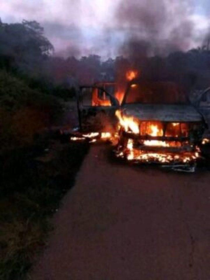 37103303_1614032492039666_4489484088503173120_n 4 Policemen Shot Dead And Their Car Set Ablaze In Sabo, Edo State (Photos)