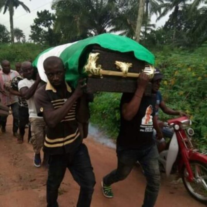 djmvy44wsaafxf3 Corper Shot By Policeman, Angela Laid To Rest In Anambra (Photos)