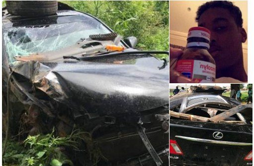 screenshot 4 - Sultan Of Sokoto's Son In Serious Car Crash After 'Getting High On Code (photos)