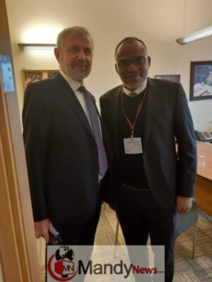 8415732 fbimg1546346294435 jpegc6eaeee044f277ccd1f54435d3dd3eb51105787804 - Nnamdi Kanu Visits Israeli Parliament, Meets 'Influential' Knesset Member (Pics)
