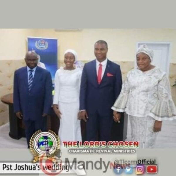 8599866_fbimg1548526225364_jpegf0695211c448d1bb2b0841c84067382d654904331 Lord Chosen Pastor Lazarus Muoka's First Son Weds (Photos)