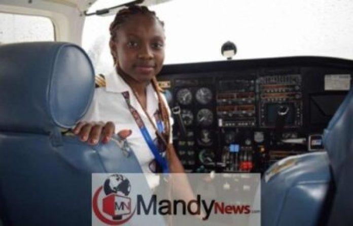 IMG_20190110_064311-696x445 Meet Ghana's Youngest Female Pilot, Audrey Esi (Photos)