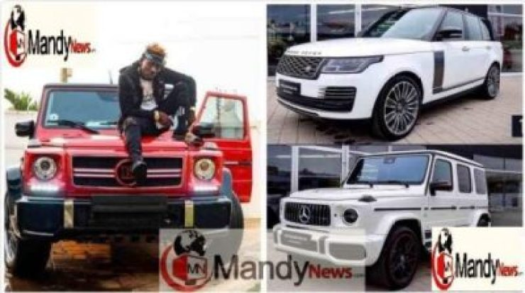 Shatta-Wale-cars Shatta Wale Shows Off His Luxurious Cars In A Latest Photos