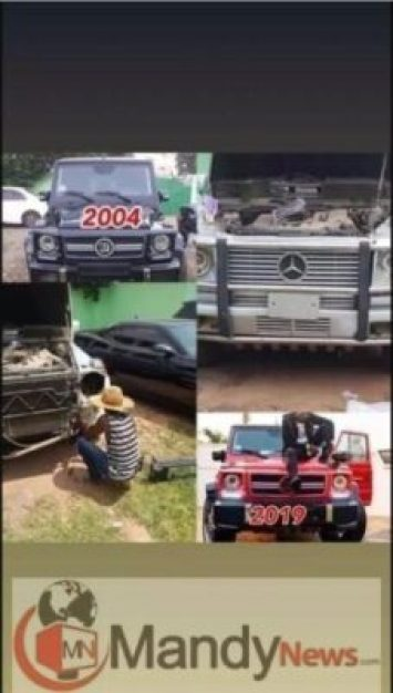 g-wagon2709620222 Young Ghanaian Millionaire, Ibrah One Exposes Shatta Wale Over Fake G-Wagon Purchase