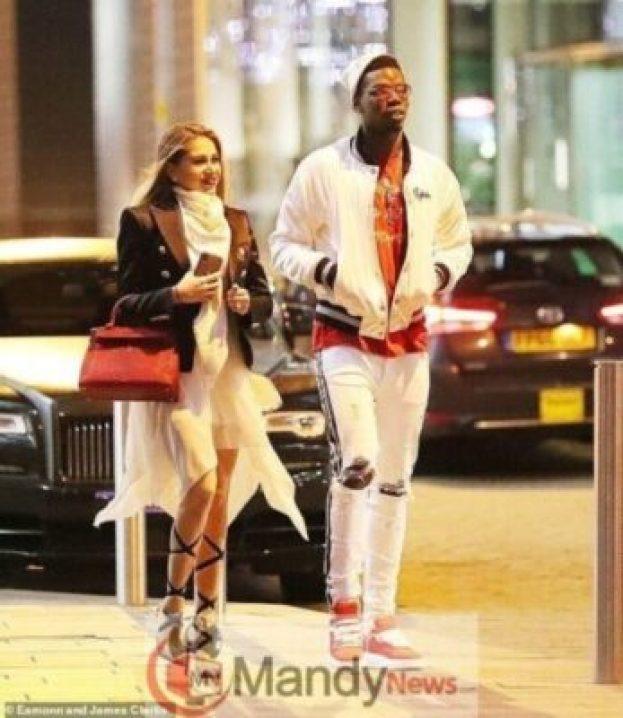 pogba-gf2313507645 Photos: Paul Pogba Steps Out With Beautiful Girlfriend, Maria Salaues