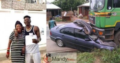 shatta-wale-and-mother-accident