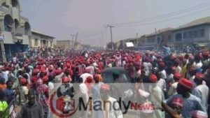 8665460 fbimg1549209760282 jpegf737c3028e27612c0d40ed34fb64ba02 300x169 - See Massive Crowd That Welcomed Kwankwaso In Dala Local Government In Kano (Photos)