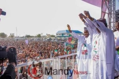 8673502 fbimg1549299037965 jpeg8e9e321f471b6413be173408f6a51146411096090 - Pictures From PDP Presidential Campaign Rally In Zamfara State