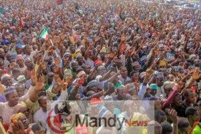 8673503 fbimg1549299078393 jpeg23a6fdf68dca6aee9abd7bb2252b64de1153053563 - Pictures From PDP Presidential Campaign Rally In Zamfara State
