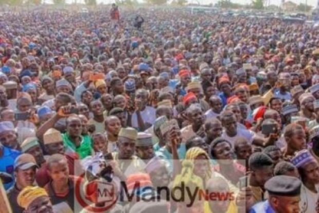 8673517_fbimg1549299018301_jpegf46f37e99ef7dc636905034f6d5296c81894857917 Pictures From PDP Presidential Campaign Rally In Zamfara State