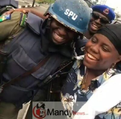 """8702993 screenshot201902071731342 jpeg01f0069aadb3265c2e1c8dd038a414ec1418093160 - Police Confront Teni For Saying """"I Fit Slap Police For Your Case"""""""