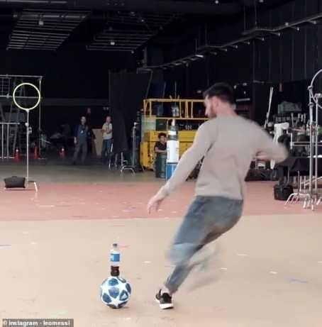 8715824_20190209074300_jpegdb227dbad00e325b217ae82c91a5f7571466056666 Lionel Messi Produces Superb Bottle Flip In New Pepsi Advert (Photographs, Video)