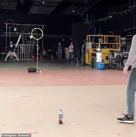 8715826 20190209074305 jpeg97233845226ae682bf2f123271856d321259762298 - Lionel Messi Produces Amazing Bottle Flip In New Pepsi Advert (Photos, Video)