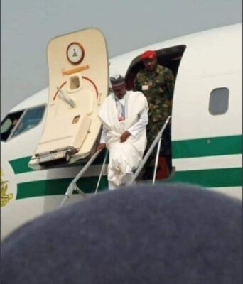 8734246 screenshot20190211113456 jpegb83d0f839d84b1fa50a1e8b8c91c5508530623765 - Buhari Arrives In Kwara State To Flag Off Presidential Campaign