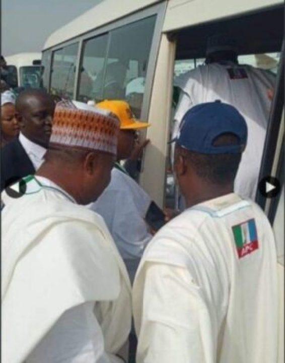 8734247_screenshot20190211113505_jpegd4a19cbee94310bbe37fadbb002f55241619787738 Buhari Arrives In Kwara State To Flag Off Presidential Campaign