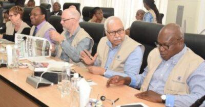 8738606 com4 jpegf6da3c7c57fdf35239706846c8d1c5811840820210 - Commonwealth Election Observers Land In Nigeria, Meet INEC (Photos)