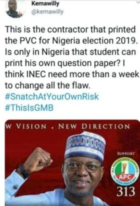 8807621_screenshot20190219102330_jpeg11364c47d8de5ff9f9ff72d3f5da1598 Meet Senator Musa Who Printed 2019 PVCs, He Is APC Senatorial Candidate (Pix)
