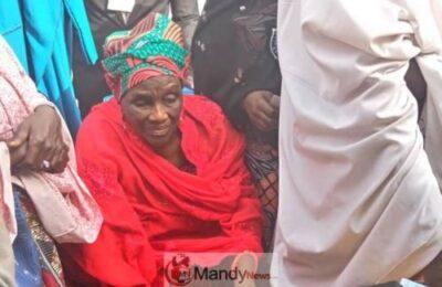8845071 buharissister jpeg9659f79df1e772e809ad7519aa057983 - #NigeriaDecides: President Buhari's 84-Year-Old Sister Votes (Photo)