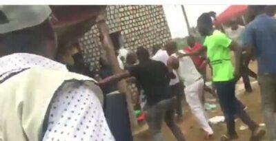 8855060 img20190224183431225 jpega73ed2617d8e0a83ea6e89b3eb316b7f - Thugs Attack INEC Collation Center In Edo, Destroy Election Materials (Photos)