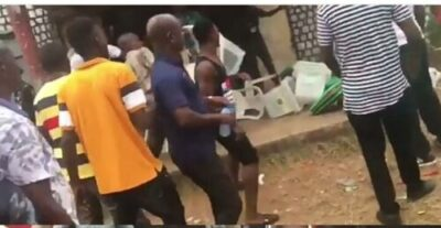 8855061 img20190224183420855 jpeg648cd18814293de90d99b8972cae1d16 - Thugs Attack INEC Collation Center In Edo, Destroy Election Materials (Photos)