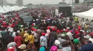 C9i4GoD4lwtdZLcy-300x165 Crowd Waiting For Atiku At Lagos PDP Presidential Rally (Video)
