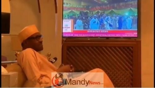 Screenshot_7 See Buhari's Reaction When He Was Announced Winner (video)
