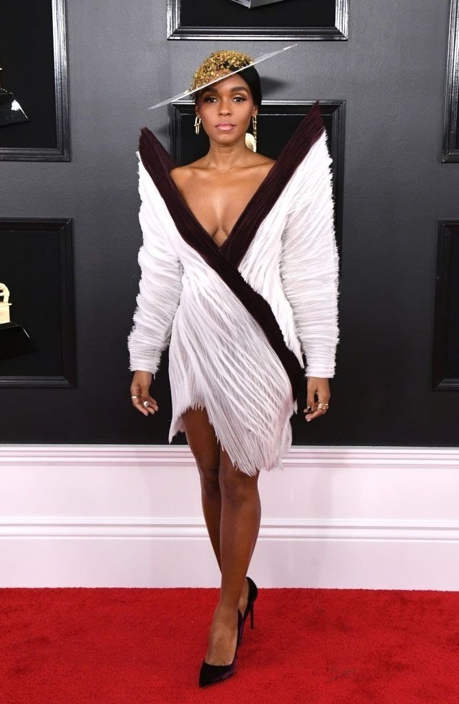 janelle-monae-attends-the-61st-annual-grammy-awards-at-news-photo-1128781589-1549844692473533002 All Grammys 2019 Red Carpet Celebrity Dresses & Looks (Photos)