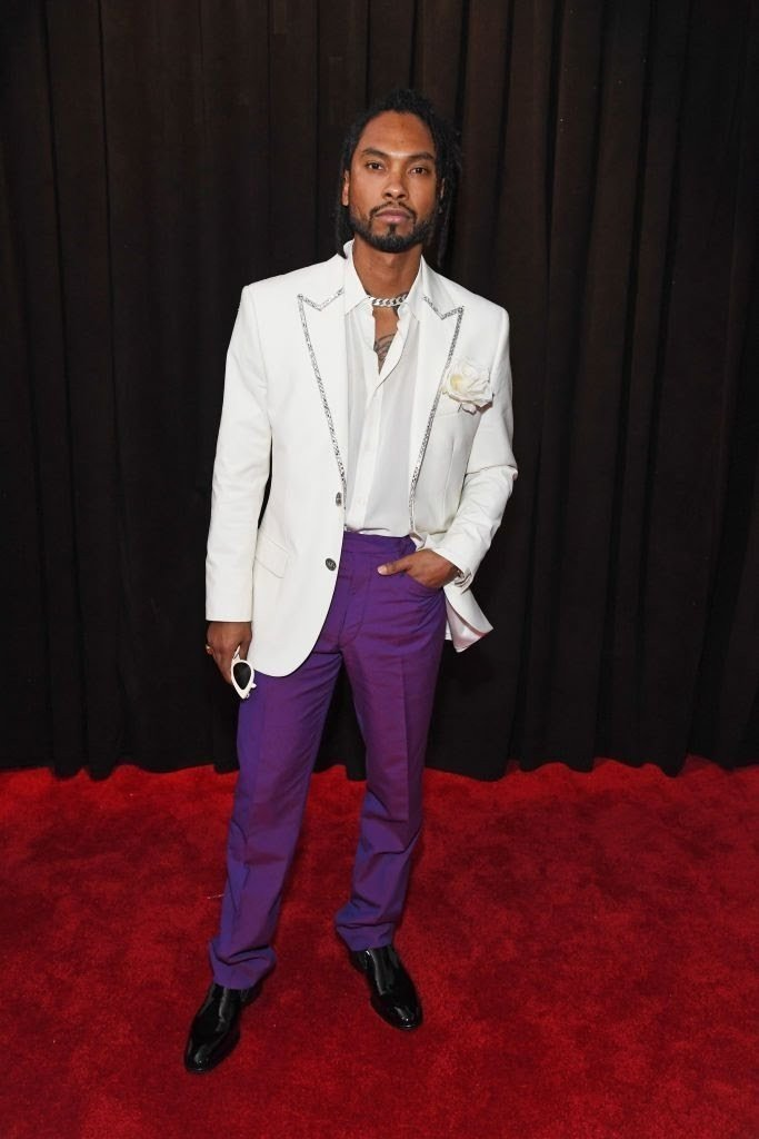 miguel attends the 61st annual grammy awards at staples news photo 1097521796 15498441171299569155 - All Grammys 2019 Red Carpet Celebrity Dresses & Looks (Photos)
