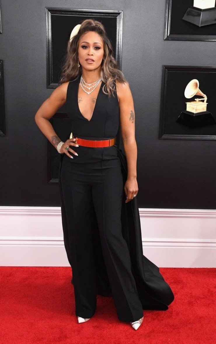 rapper eve attends the 61st annual grammy awards at staples news photo 1097445280 1549839733607065745 - All Grammys 2019 Red Carpet Celebrity Dresses & Looks (Photos)